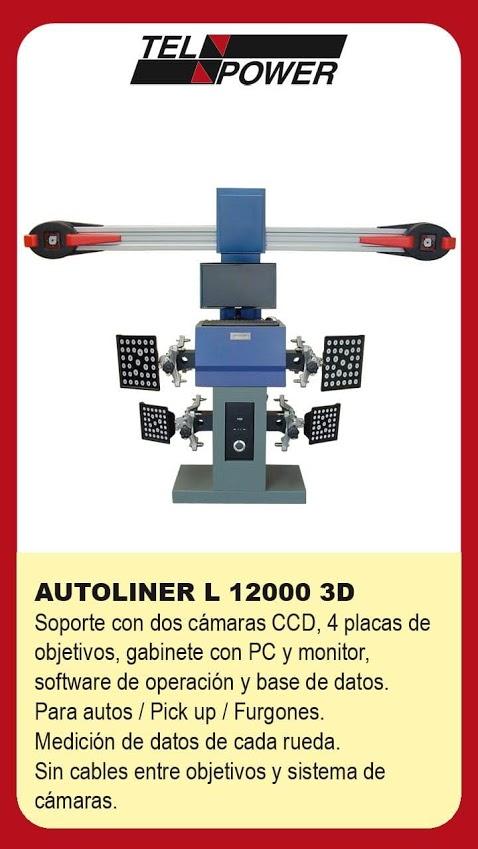 Alineadora laser 4D