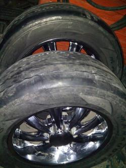 Neumáticos 4x4 adaptado