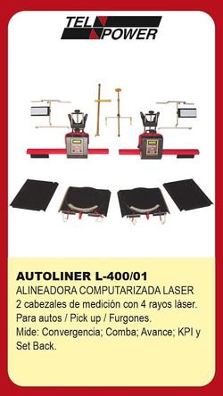 alineadora laser
