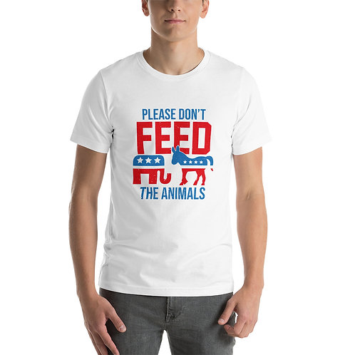 PLEASE DON'T FEED THE ANIMALS
