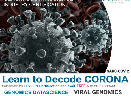HAVE YOU TRIED OUR FREE ADD-ON PROGRAM ON VIRAL GENOMICS WITH THE LEVEL-1 CERTIFICATION?