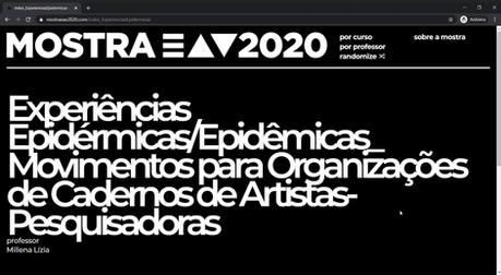 MOSTRA EAV 2020