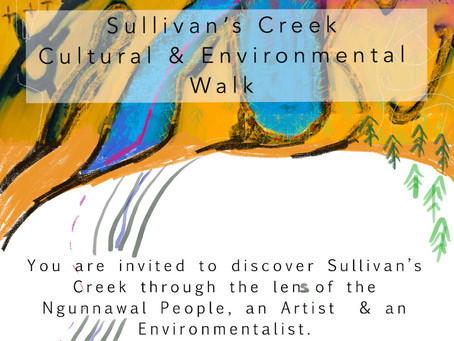 The Sullivan's Creek Cultural & Environmental Walk