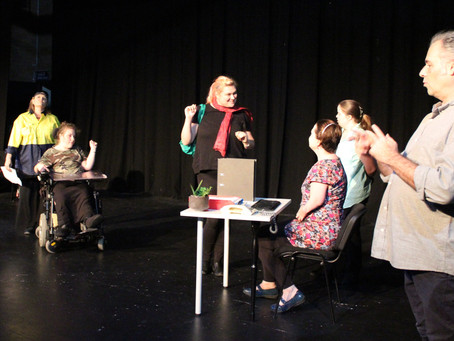 Callout for actors with disabilitiesfor Access All Areas