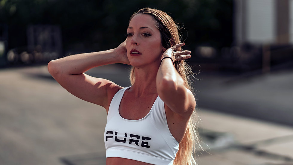 "Nasty Vegan ""Pure"" Sports Bra"