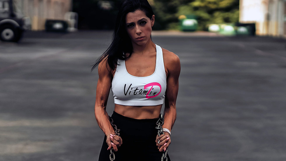 "Nasty Vegan ""Vitamin D"" Sports Bra"