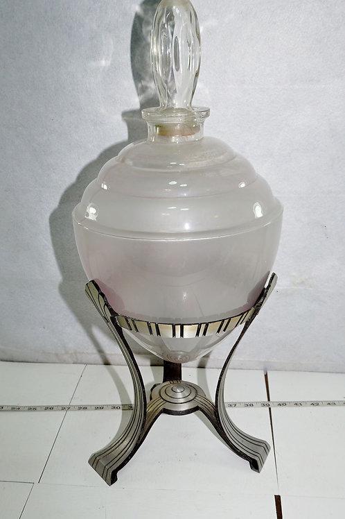 1930s Art Deco Apothecary Jar