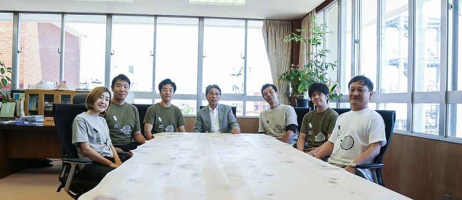 田辺市長室