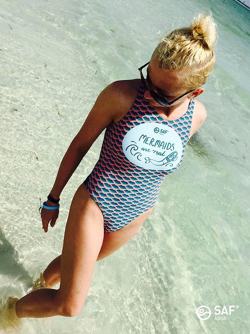 Strój pływacki SAF AQUA® 'Mermaids are real'