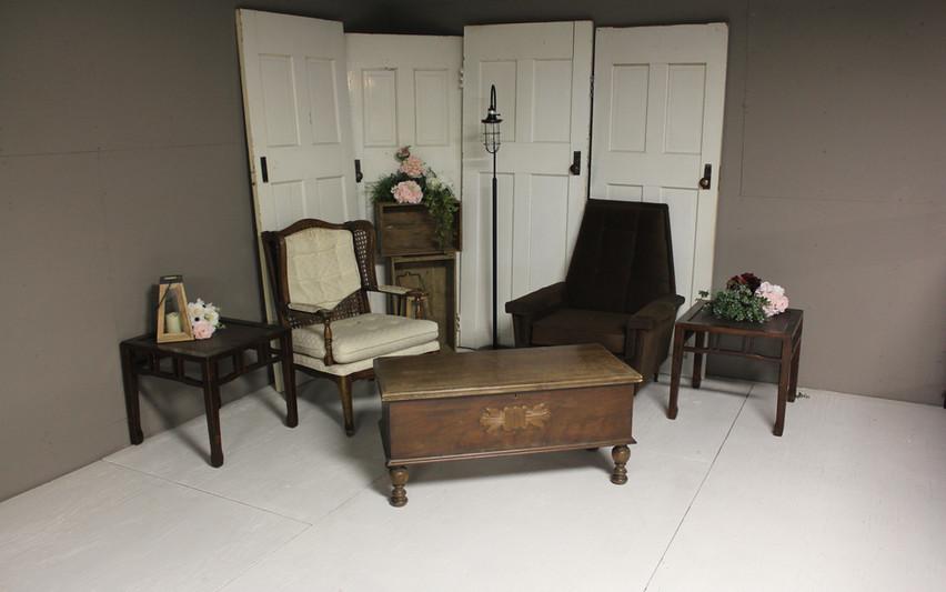 Comfy loft seating area