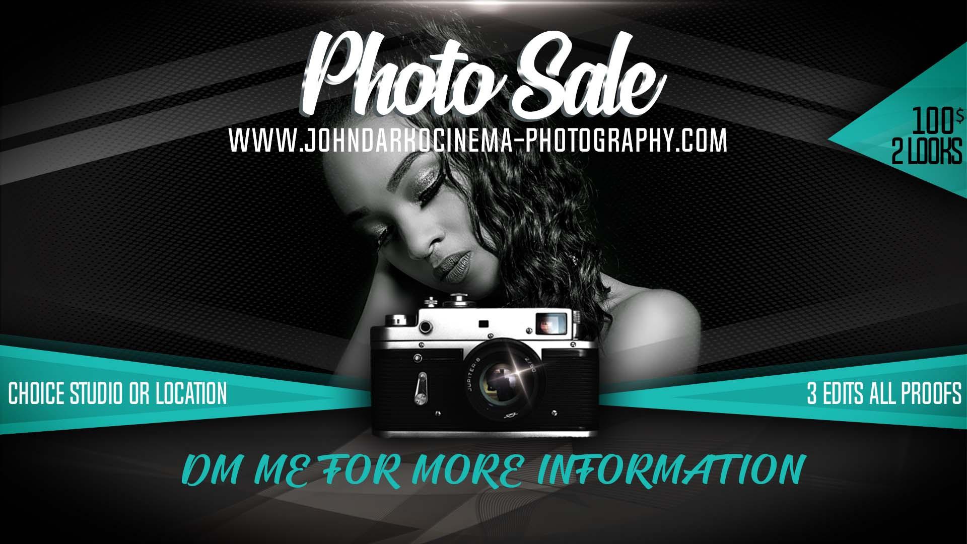 Photography Sale
