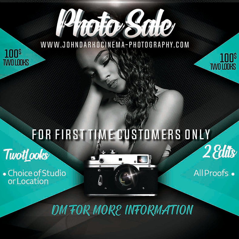 Photography Sale Flyer April (Instagram)
