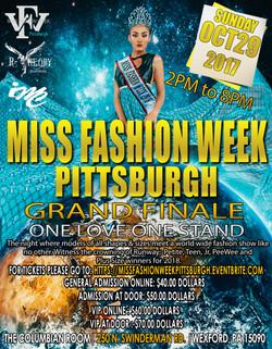 Miss Fashion Week Flyer (Bianca)