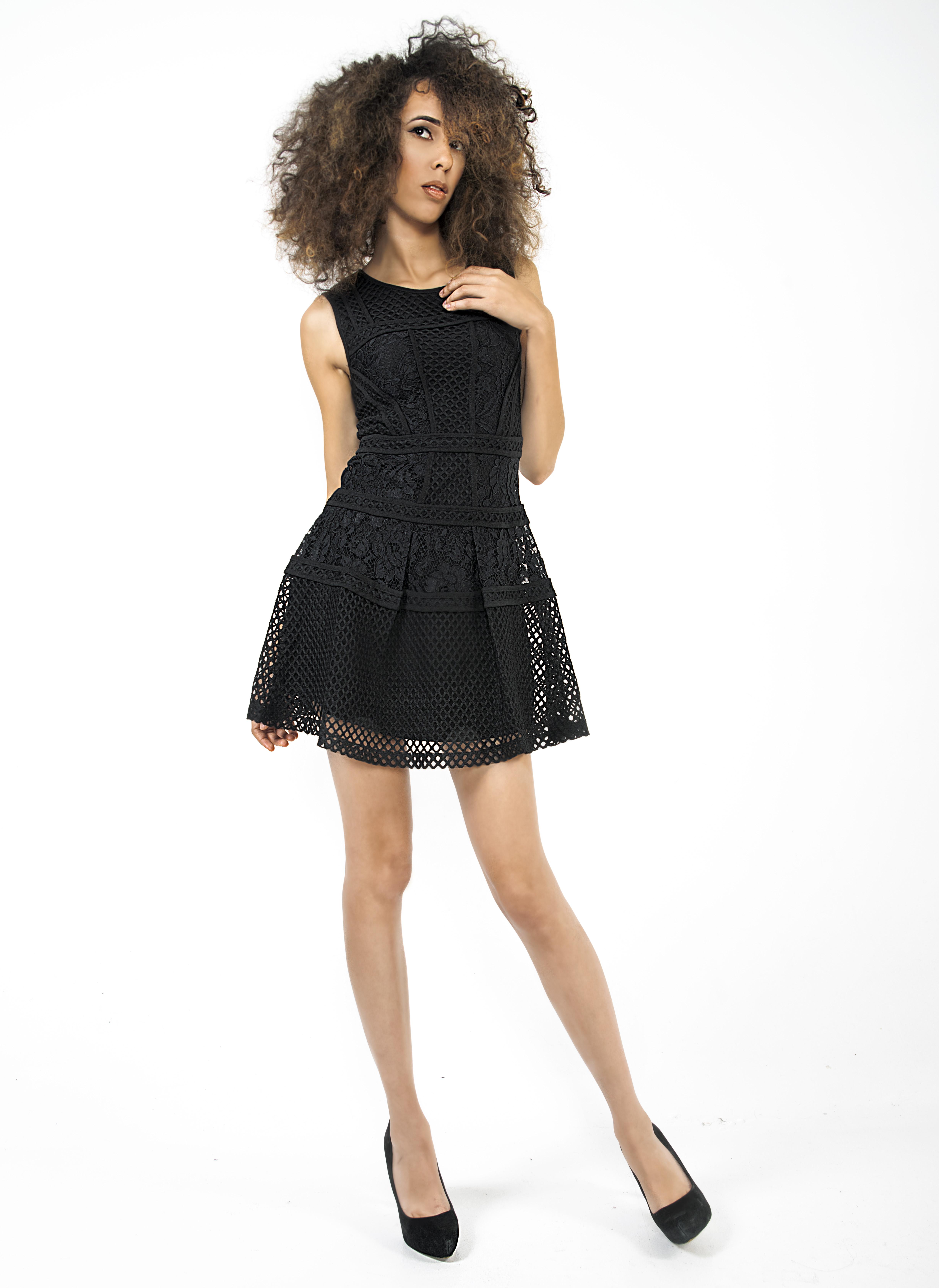 Deja black Dress 01