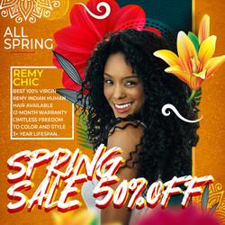 Remy Chic Spring Sale Add 50% 01