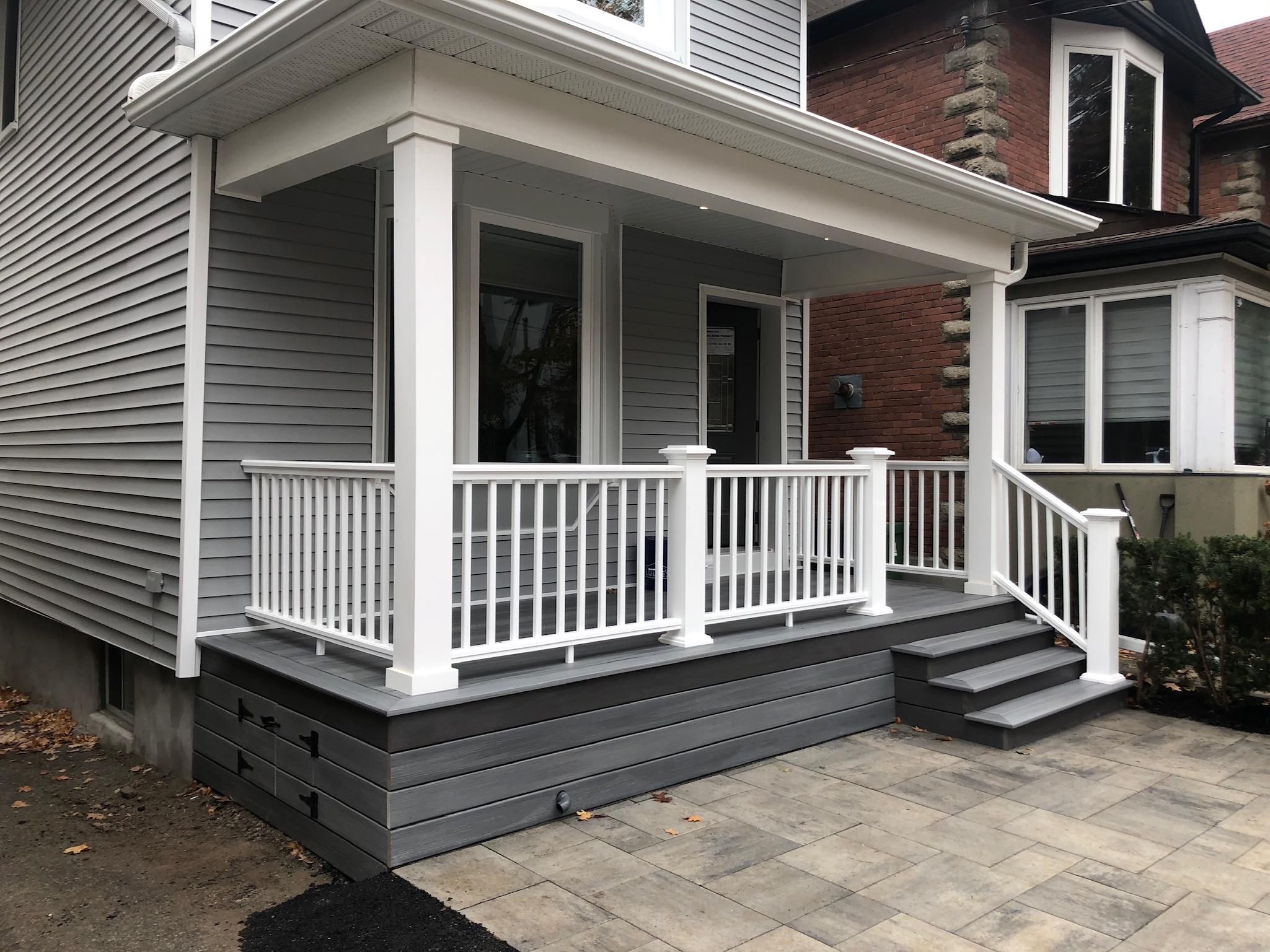 The Beaches - PVC porch