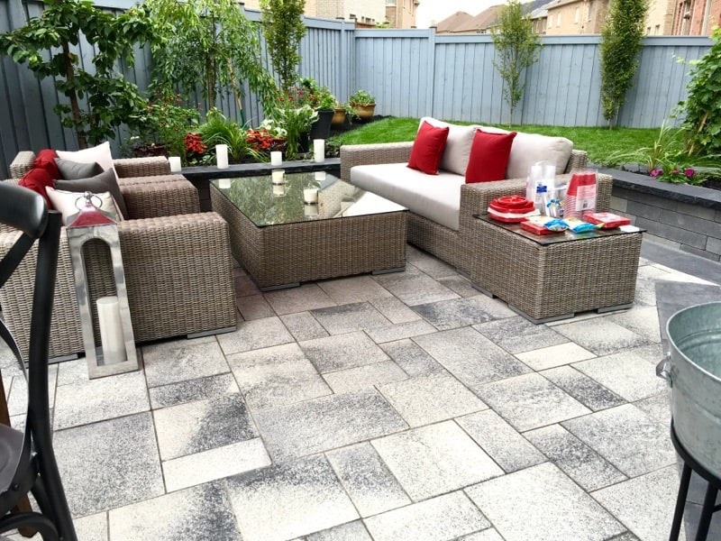 Strong Base Interlock patio