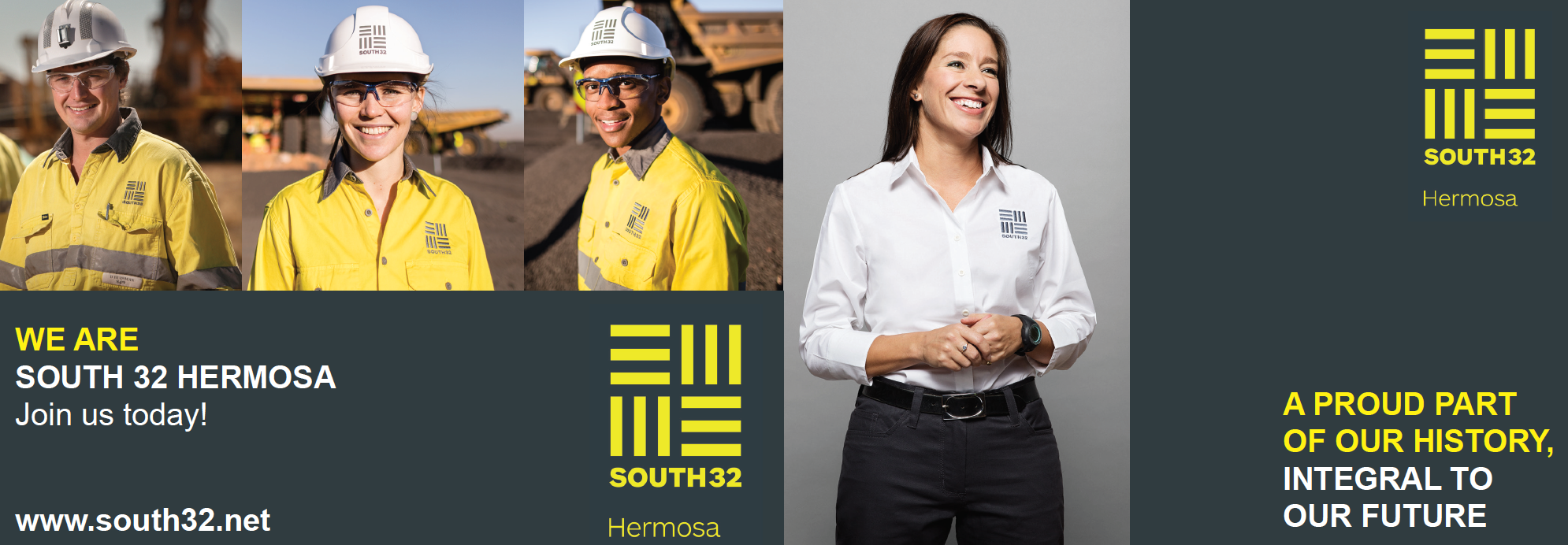 SOUTH32 Employment Brochure - Covers