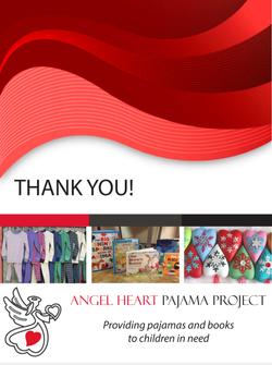 Angel Heart Pajama Project - Back