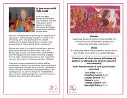 Sister Jose Center - Program Book