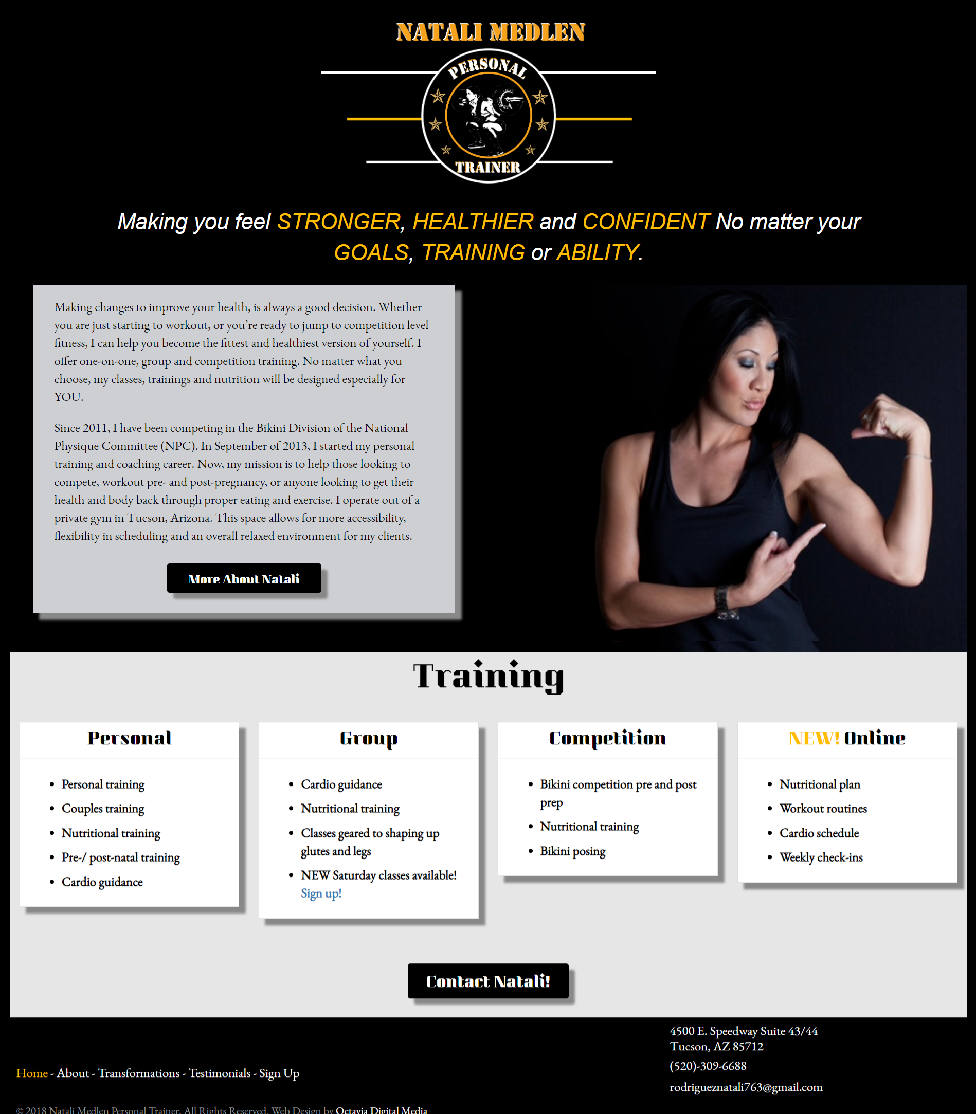 Natali Medlen Personal Trainer