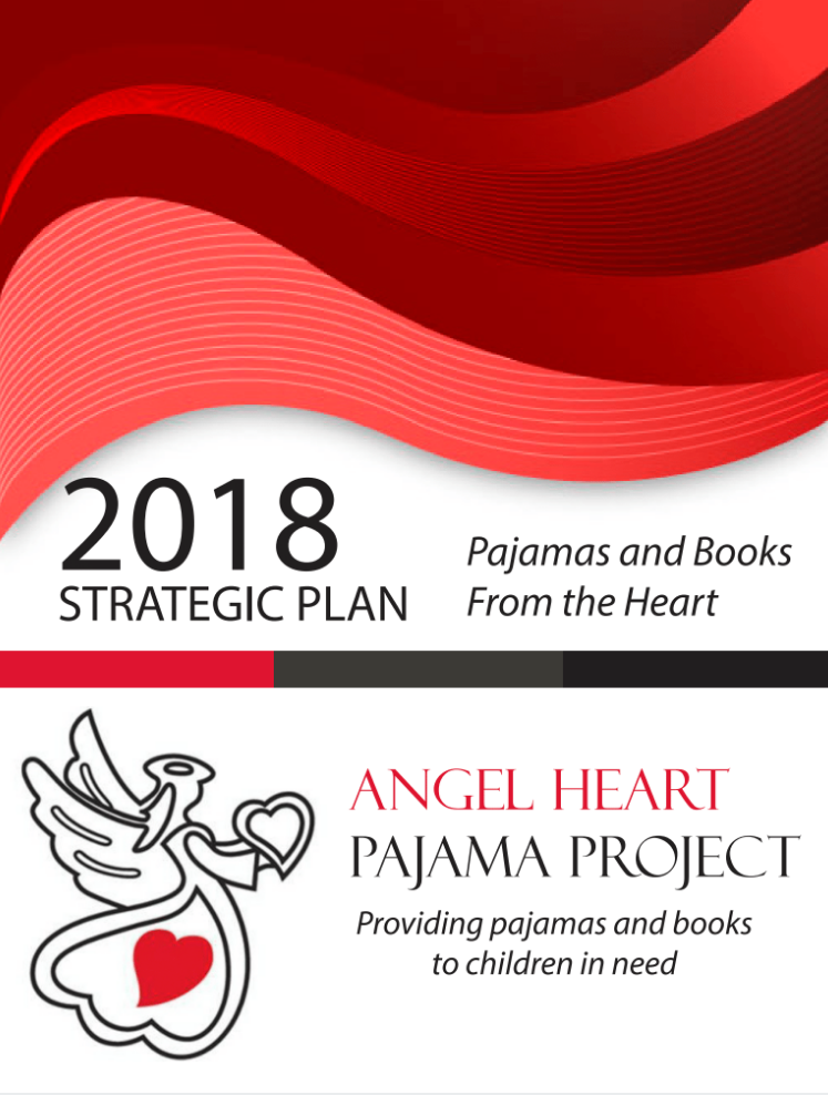 Angel Heart Pajama Project - Front