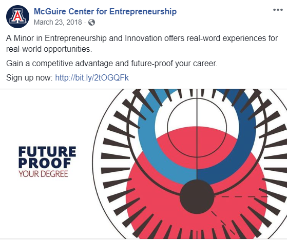 UA McGuire Cent for Entrepreneurship