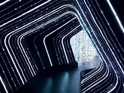 A Universal Journey Lighting Display - Guiness World Record Indoor Lighting Display