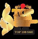 Top Biz Service and Quality 20212022 Top 100 SME (Transparent).png