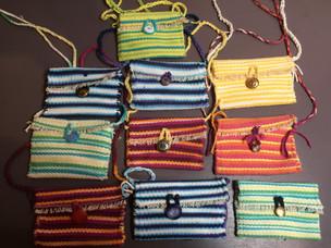 Loom Woven Cotton Purses