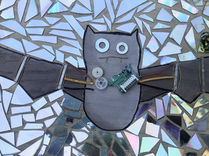 Recycled Art Mosaic