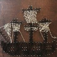 String art ship