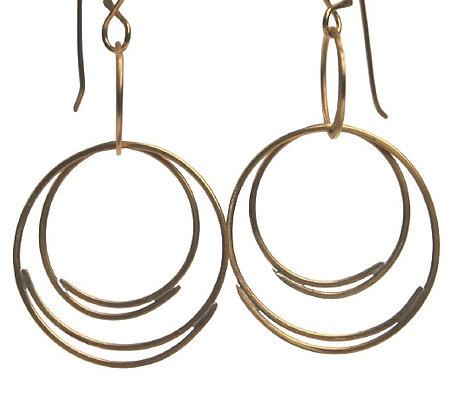 Crescent Series #1 Brass