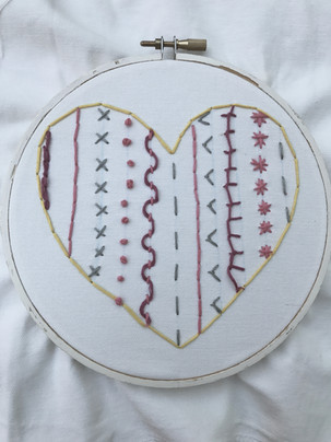embroidery sample