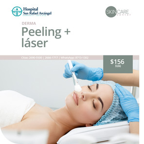 Skin Care Center Paquete Pelling + Láser Promoción vigente hasta el 31 de marzo, 2021.