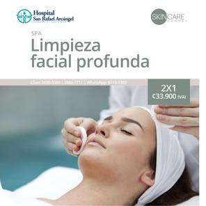 Skin Care Center Limpieza facial profunda 2x1 Promoción vigente hasta el 31 de marzo, 2021.