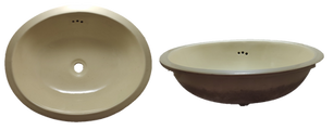 Lavabo Oval Grande / Large Oval Washbasin
