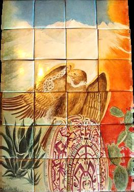 Mural Aguila Azteca
