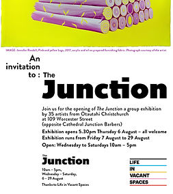 Poster and Invitation to The Junction.JP