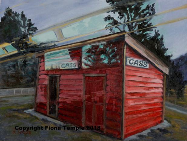 """Cass by Train - Oilon panel board  230 x 305(9""""x12"""")"""
