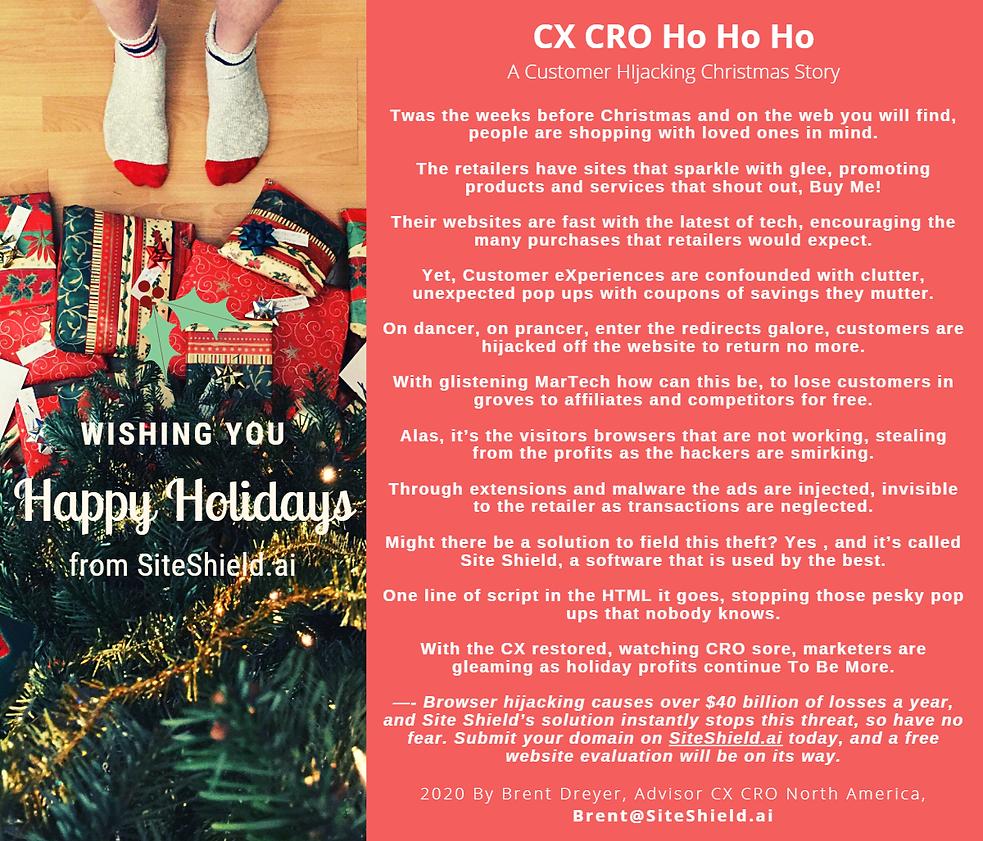 Customer Hijacking Christmas Story