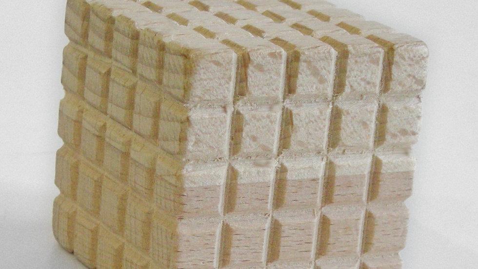 Куб 5 см для изучения объёма