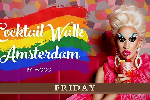 PRIDE Lite Edition: Cocktail Walk Friday 23/07/2021