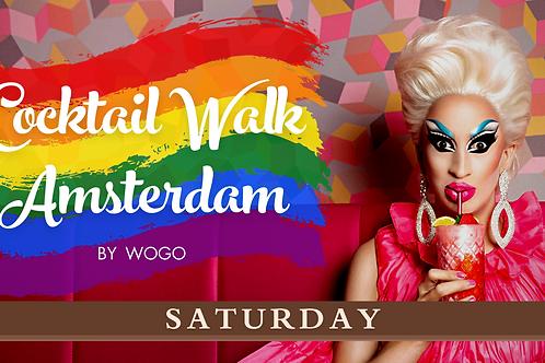 PRIDE Edition: Cocktail Walk Saturday 24/07/2021