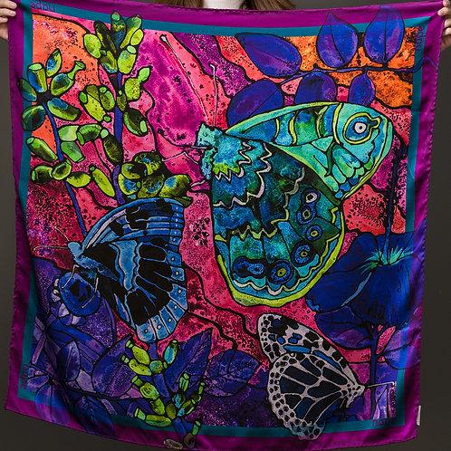 Butterflies 90x90cm