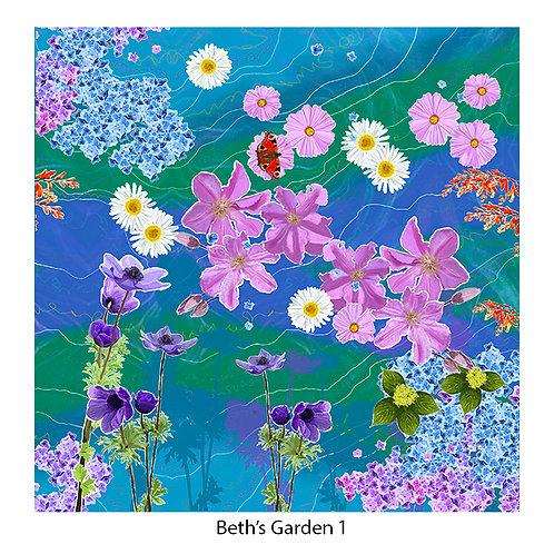 Beth's Garden Upholstery Panels