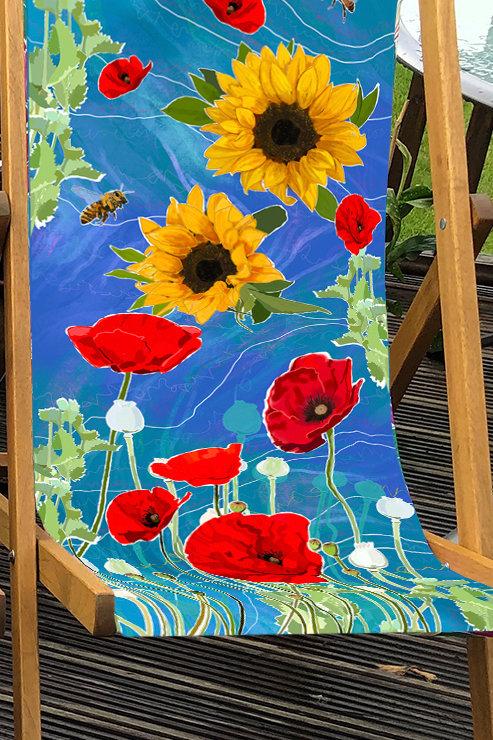 Deckchair St Monan's 4- 100% Polyester Canvas Sling