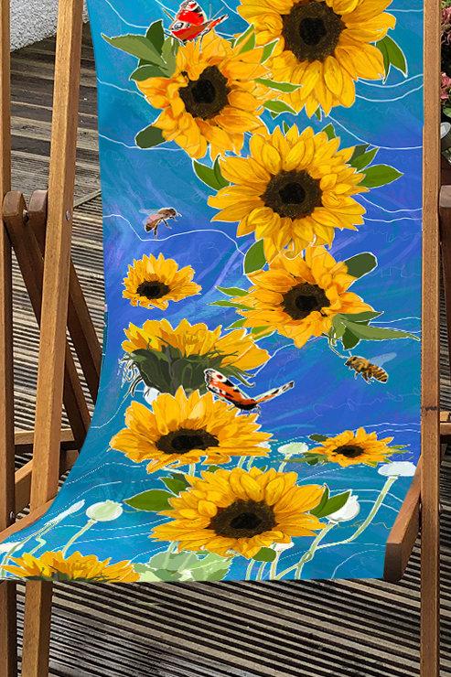 Deckchair St Monan's 2- 100% Polyester Canvas Sling