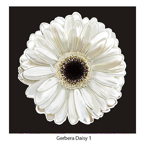 Gerbera Daisies & Cosmos Upholstery Panels