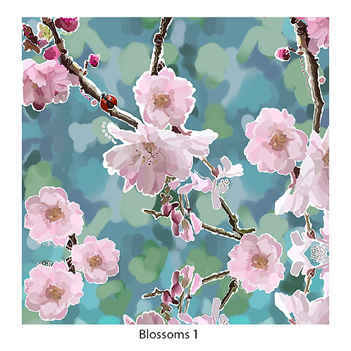 Blossoms Upholstery Panels